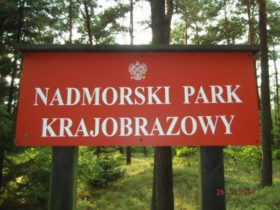 Nadmorski Park Krajobrazowy - objazd nowej trasy - Wejherowo PKP